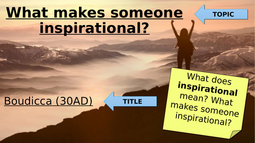 What Makes Someone Inspirational?