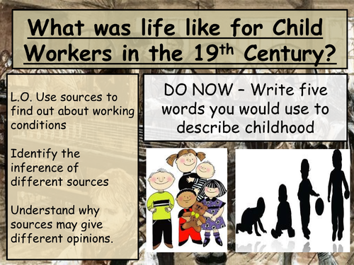 Conditions for children during the Industrial Revolution