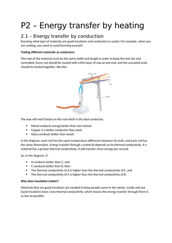 AQA Trilogy - Physics P1 Summaries