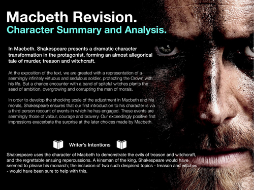 Macbeth Character Revision
