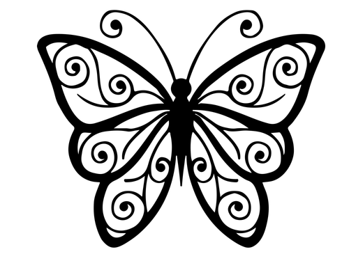 Butterfly Coloring Pack