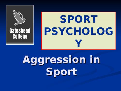 Level 3 Sport Psychology