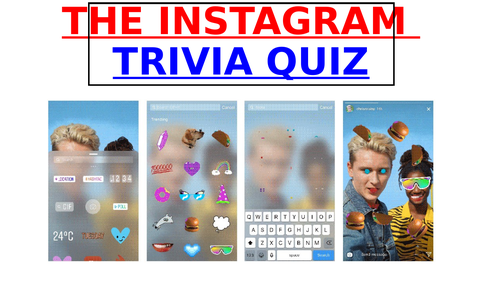 The INSTAGRAM Trivia Quiz