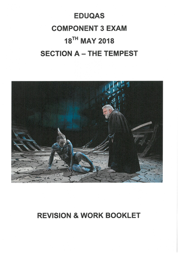 Component 3 - Section A - The Tempest Revision Guide