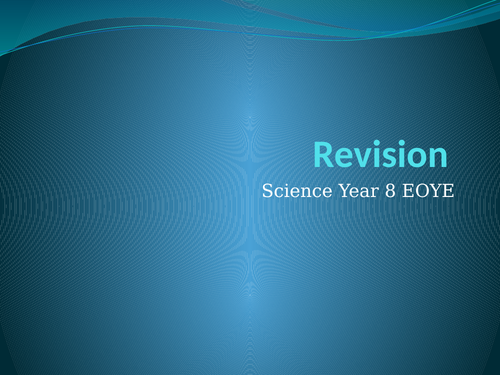 Science Revision