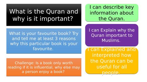 Islam - Scheme of work + assessment + homework resources