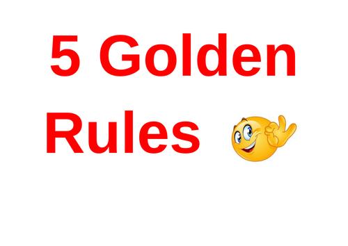 Behaviour Golden Rules Poster