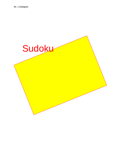 Weekly Sudoku Puzzles (plus more)