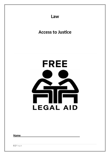 Access to Justice Booklet