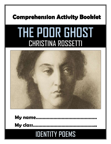 The Poor Ghost Comprehension Activities Booklet!