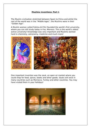 Muslim inventions part 1 RE ISLAM