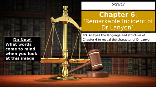 Jekyll and Hyde chapter 6: the character of Dr Lanyon