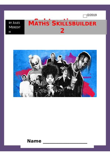 Maths Skillsbuilder 2 - Music - Subtraction