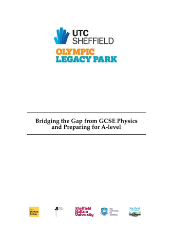 GCSE to A level Physics: Bridging the Gap