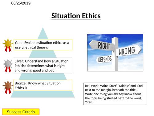 Morality - Situation Ethics