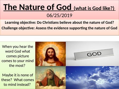 Nature of God Christianity