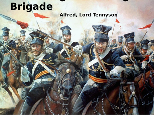 The Charge of the Light Brigade by Alfred, Lord Tennyson- Poetry Analysis- CCEA GCSE Conflict Poetry