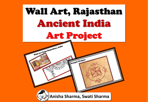 Wall Art Paintings, Murals from Rajasthan, Ancient India Art Project