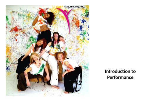 A twelve lesson unit of work introducing junior pupils to performance and the role of the actor