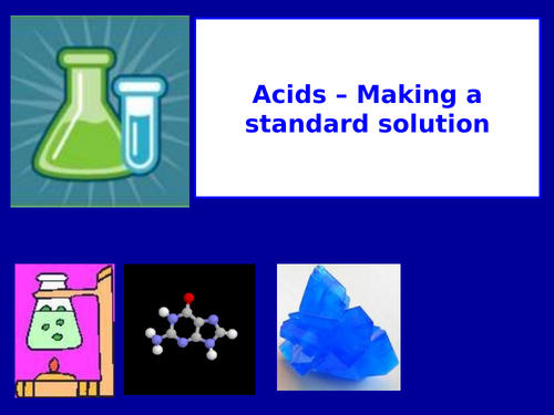 Year 12 Chemistry - Module 2 - Foundations in Chemistry - Acids