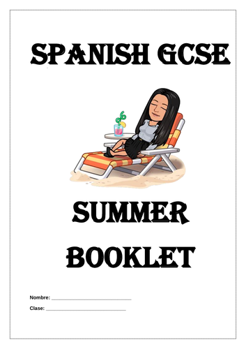Spanish GCSE Reading and Grammar booklet