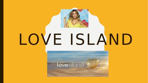 Psychology RM Love island