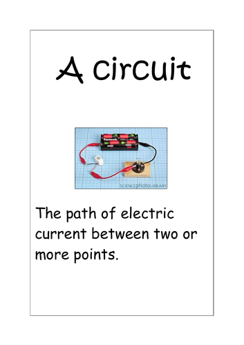 Circuit Components - Pictures & Labels