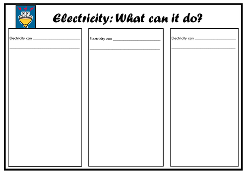What can electricity do?