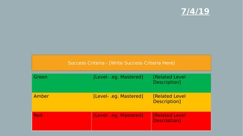 Powerpoint/Presentation Design