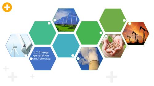 1.2 Energy generation and storage
