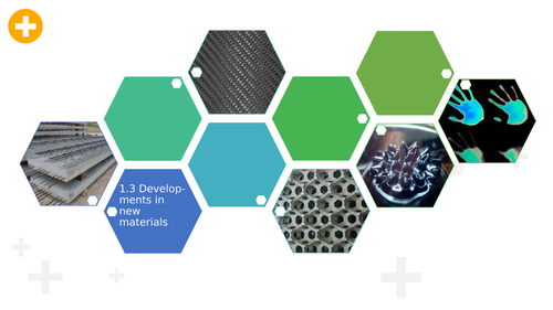 1.3 Developments in new materials