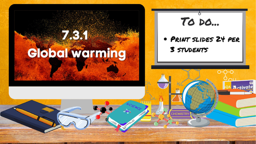 KS3 AQA Activate 7.3.1 Global warming