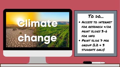 KS3 AQA Activate 7.3.3 Climate change
