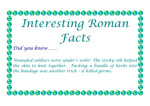 The Romans - 15 interesting facts