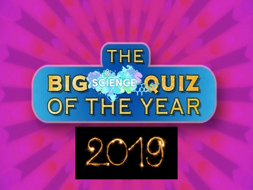 Big Science Quiz of the Year 2019