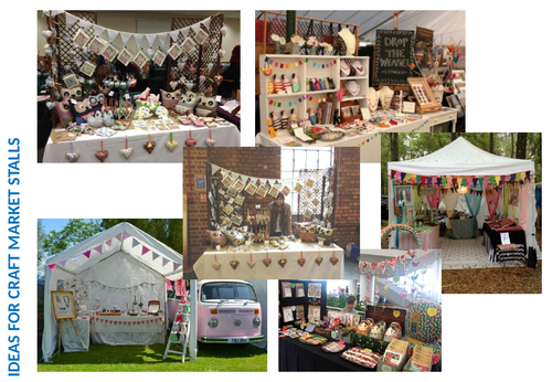 Cover work - Design a craft stall and promotion