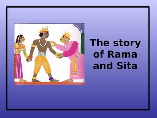 Diwali Story & Storyboard - Rama and Sita