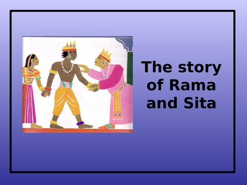 Diwali Story & Storyboard - Rama and Sita