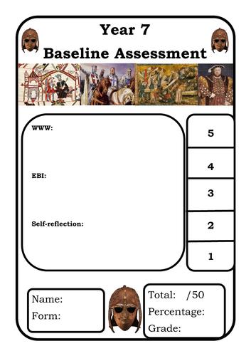 Year 7 Baseline Assessment (Edexcel Style)