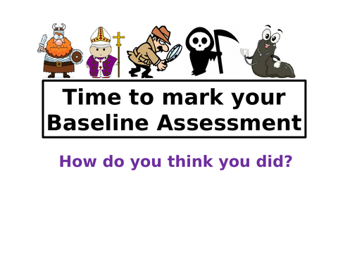 Y9 Baseline Assessment Edexcel style could be used for Y10 or  Y11 as a refresher