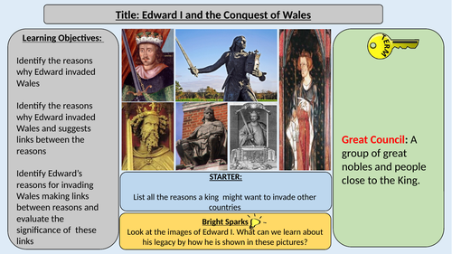 Edward I and the Conquest of Wales and Scotland