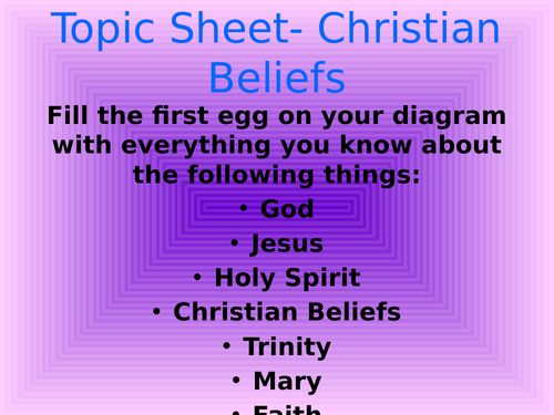 Facts, Belief and Faith