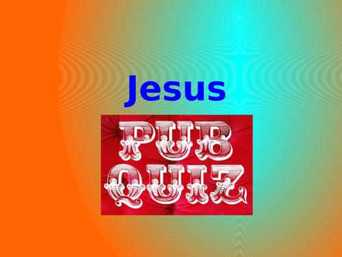 Jesus Pub Quiz