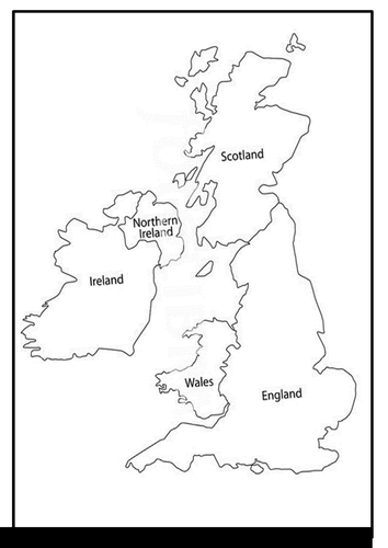 Scotland - UK and Western Europe MAPS