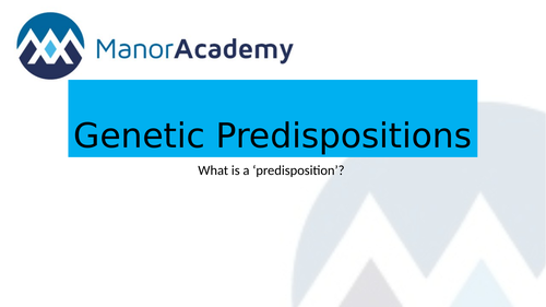 BTEC National Level 3 Health and Social  Unit 1 Genetic and Biological Factors 2 Lessons