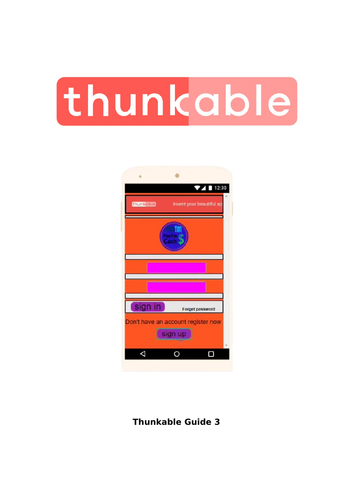 Thunkable Guides by kellyrosina   Teaching Resources