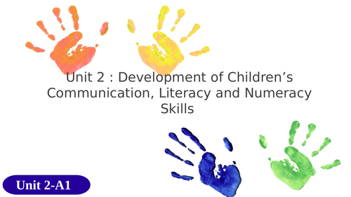 BTEC CPLD Child's Play, Learning and Development  Level 3 Unit 2 *NEW SPEC*
