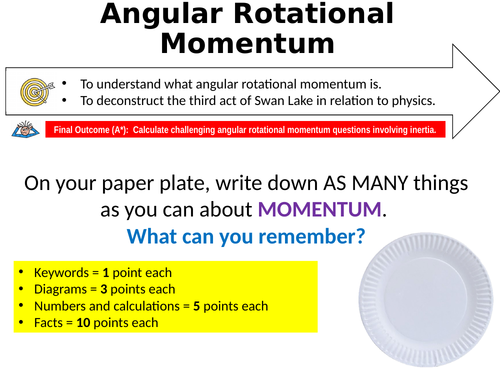 AS/A LEVEL PHYSICS: ANGULAR MOMENTUM