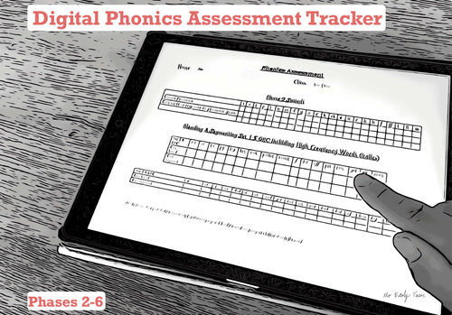 Digital Phonics Assessment Tracker