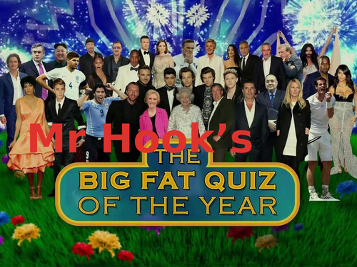Mr Hook's Big Fat Quiz of the Year 2019